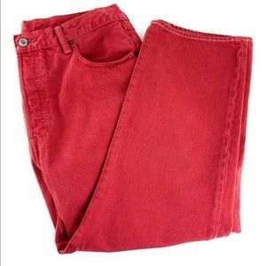 36x26 Men's Vintage 501 Faded Red Levi's